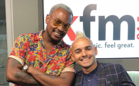 Carl Wastie surprises Majozi with listening party on the CokeTop40CT