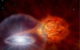 "SA astronomers makes a very bright discovery - a new ""star""!"