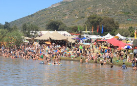 Dive squad search for missing festival-goer at Rocking the Daisies dam
