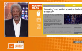"Morgan Freeman explains ""Twerking"""