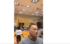Schwarzenegger urges public not to give Sandton 'fan' the attention he craves