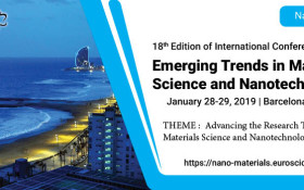 18th Edition of International Conference on  Emerging Trends in Materials Science and Nanotechnology8