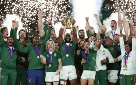 South Africans celebrate unity brought by Springboks' RWC victory