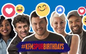 #KFMSpurBirthdays