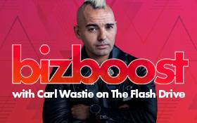 Bizboost与卡尔·瓦斯蒂(Carl Wastie)