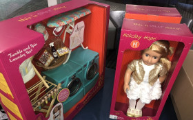Dolls for both girls and boys