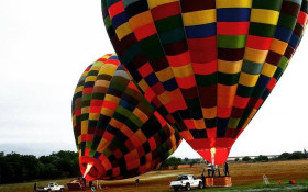Imagine drifting over the Cradle of Humankind in a hot air balloon