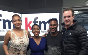 Our two winners of our Toyota Kfm 94.5 Crew Search