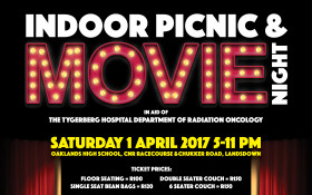 Indoor Movie & Picnic Night Fundraiser