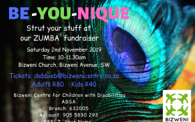 Be-YOU-nique Zumba Fundraiser