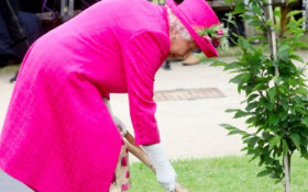 [WATCH] Queen Elizabeth impresses as she says she 'can still plant a tree' at 93