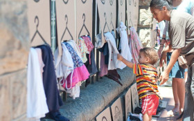 Pop-up street store in Durbanville to give clothes to the less fortunate