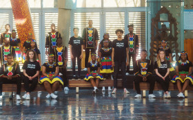 Ndlovu Youth Choir lend their voices to an inspiring rendition of SA's Preamble