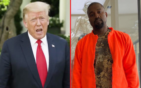 [LISTEN] Kanye West vs Donald Trump Rap Battle