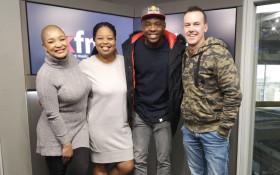 SA Cricketer Kagiso Rabada chats cricket and music on Kfm Mornings