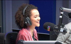 Nathalie Emmanuel from GoT and Fast 8 in studio!