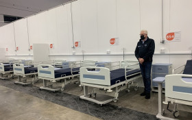 Inside the COVID-19 field hospital at CTICC