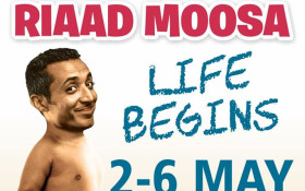 Riaad Moosa is ready to entertain you