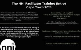 NNI facilitator training Cape Town