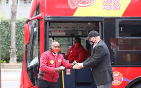 Cape Town's 'Red Bus' tours get back into gear