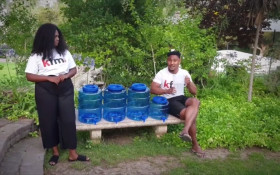 The Toyota Kfm Crew shows you how easy it is to #SaveWater