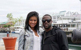 Kevin Hart Out and About in the Cape