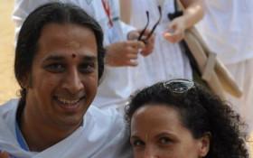 Gerlinde and Mukesh Vassen, Art of Living teachers