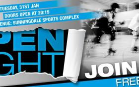 CTR Presents - Open Night - Jan 2017