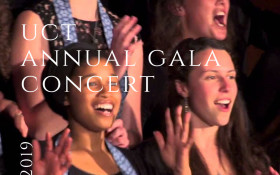 UCT Annual Gala Concert Arranged and Presented by George Hill