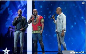 [WATCH] A golden buzzer for South African trio on talent show
