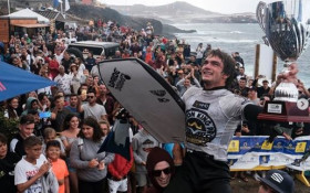 Cape bodyboarder Tristan Roberts beat the odds to win the world championship