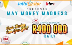 The KFM Lottostar May Money Madness Competition