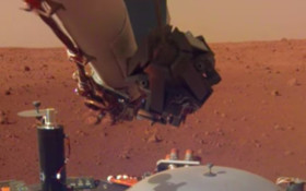 [LISTEN] Nasa releases first sounds of wind on Mars