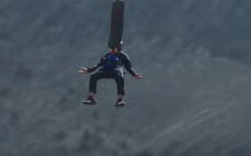 Will Smith just did an EPIC Bungee jump
