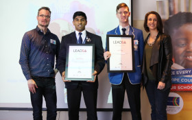 These are your Lead SA  Western Cape Heroes for 2017