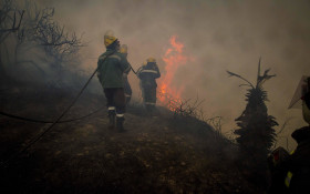 Knysna fire contained, firefighters deployed to high priority areas