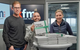 Carl and Zoë try Col'Cacchio's new CBD-infused pizza range