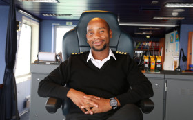 Meet Knowledge Bengu – Master of the SA Agulhas II