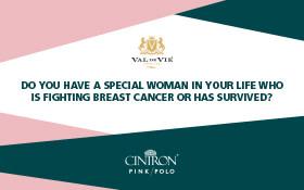 KFM & Cintron Pink Polo