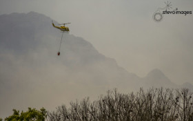 Culprits spotted deliberately starting fires in the Cape