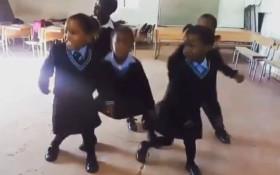 [WATCH] These adorable kiddies dancing the Gwaragwara!