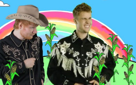 Ed Sheeran and Justin Bieber kick 'Old Town Road' to curb