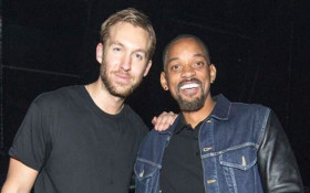 A Calvin Harris / Will Smith collab could become a thing