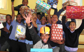 Logistics support needed for Santa Shoebox Project