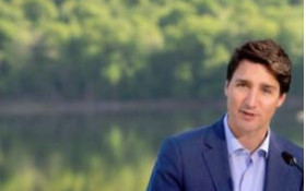 [WATCH] Justin Trudeau's stumbling response why his family has not gone green
