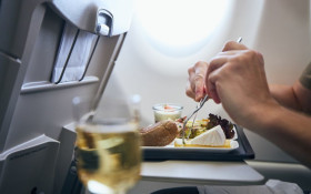 No food to be served on domestic airlines, only water