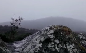 [WATCH] Table Mountain got snow!