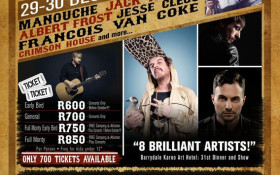 Unplugged62 New Year's festival in Barrydale!