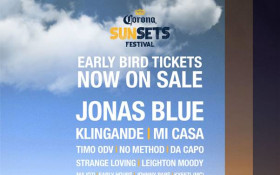 Corona SunSets Festival Returns to kick off Cape Town Summer!