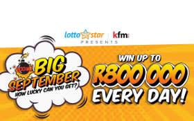 LottoStar & Kfm 94.5 are back this Big September!